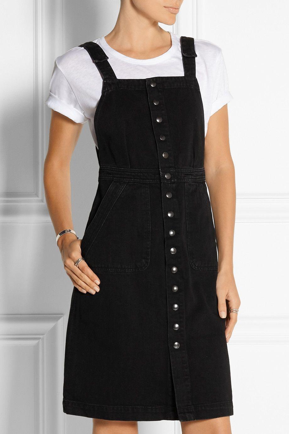 MiH Jeans|Eastman denim dress|NET-A-PORTER.COM