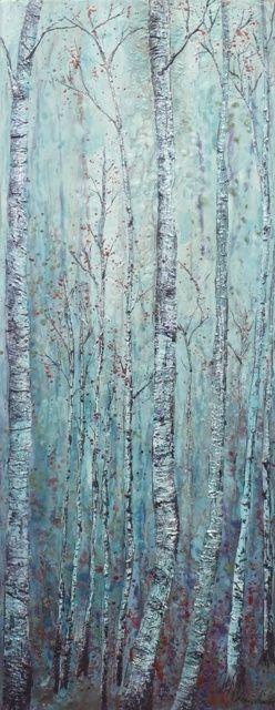 Sold works Encaustic on Wood Panel