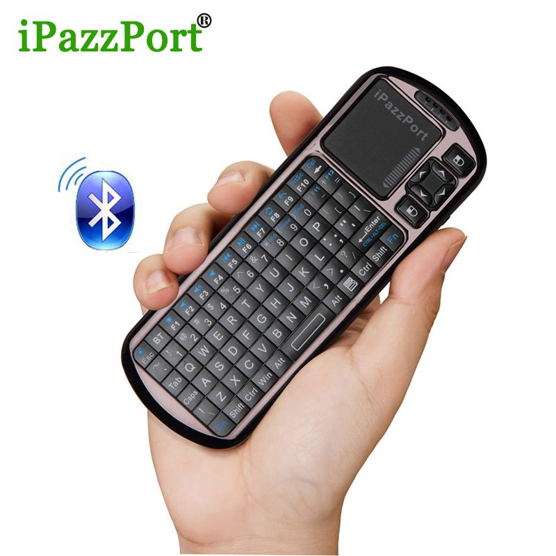 Ipazzport wireless mini bluetooth keyboard mouse touchpad for ipazzport wireless mini bluetooth keyboard mouse touchpad for windows android ios tablet pc hdtv google tv sciox Choice Image