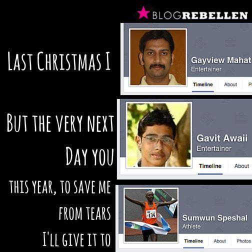 last christmas i gayview mahat. #wham #meme | Christmas Giggles ...