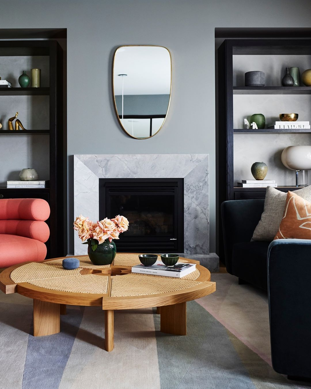 Magnolia Homes Interiors: To The Left Of The Serene Foyer Is A New Formal Living