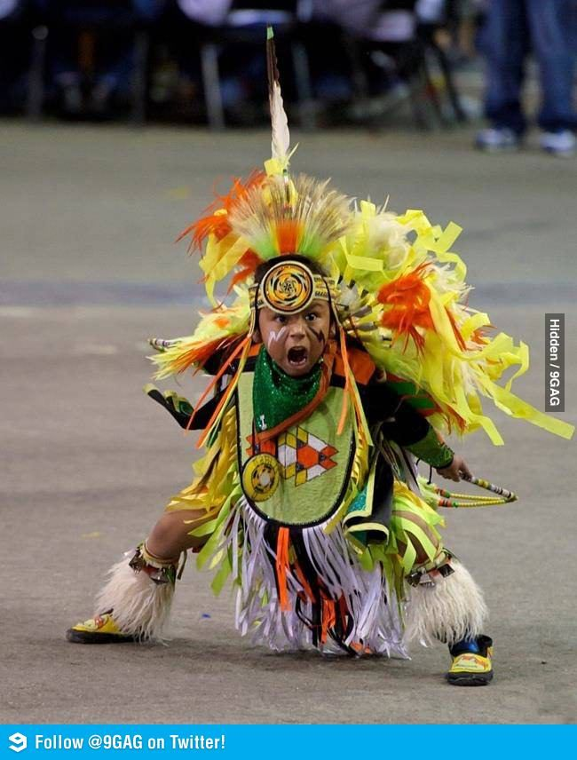Little Warrior #nativeamericanindians