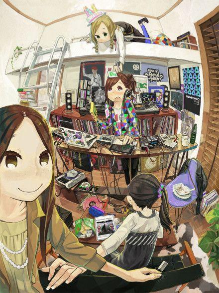 City Anime Anime Style Animation Art