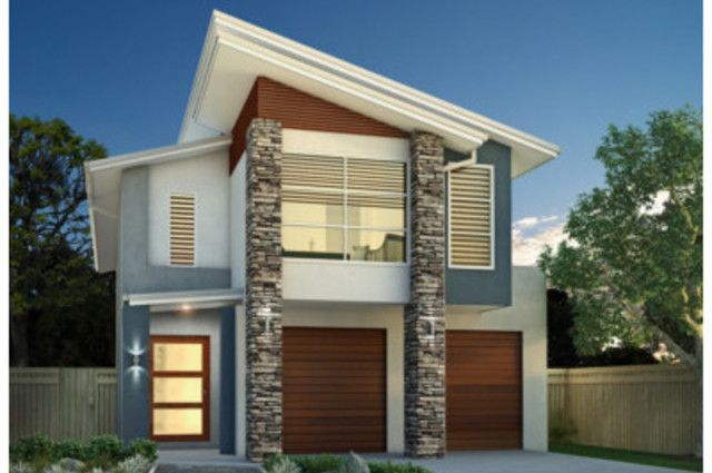 Modern Double Storey House Plans Narrow House Designs Modern House Facades 2 Storey House Design