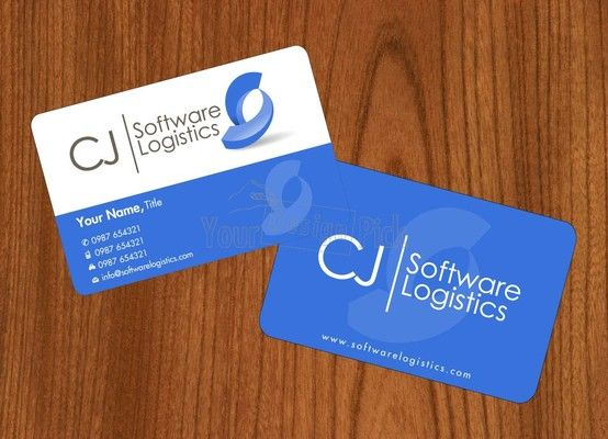 Business card design for cj software logistics from business card design for cj software logistics from yourdesignpick reheart Gallery