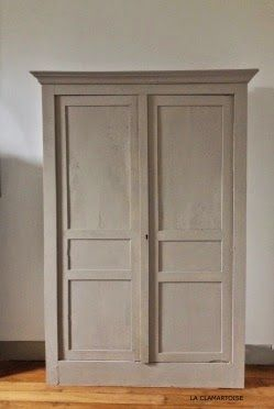 DIY armoire ancienne : rénover une armoire ancienne | relooking ...