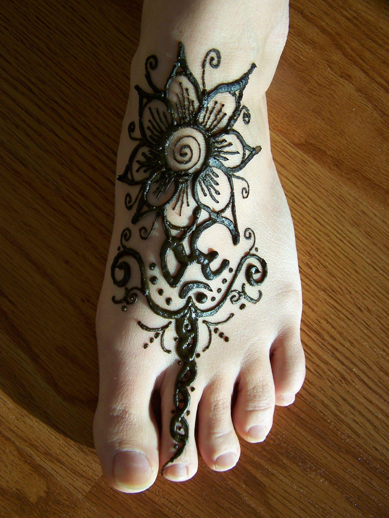 Feet Mehndi Designs Henna Mehndi Beautiful Tattoos