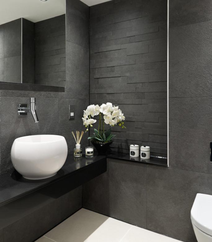toilette mur bathroom pinterest. Black Bedroom Furniture Sets. Home Design Ideas