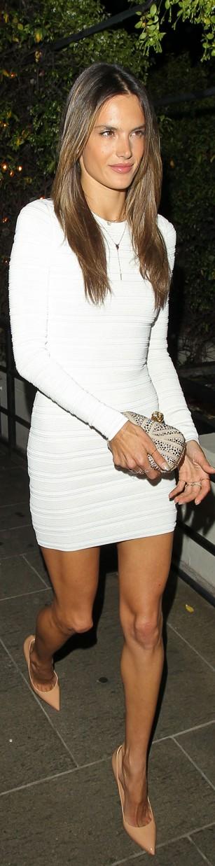Alessandra white dress