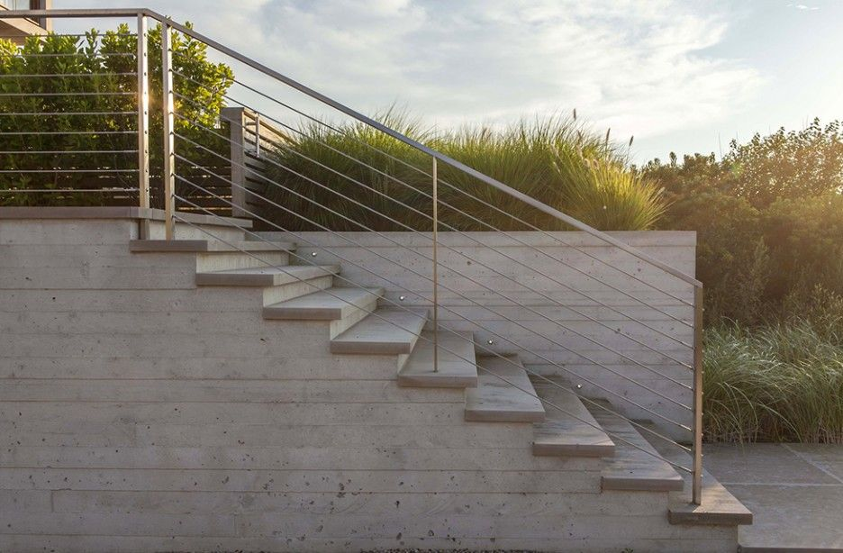 Exceptionnel Bedroom Outdoor Concrete Stairs With
