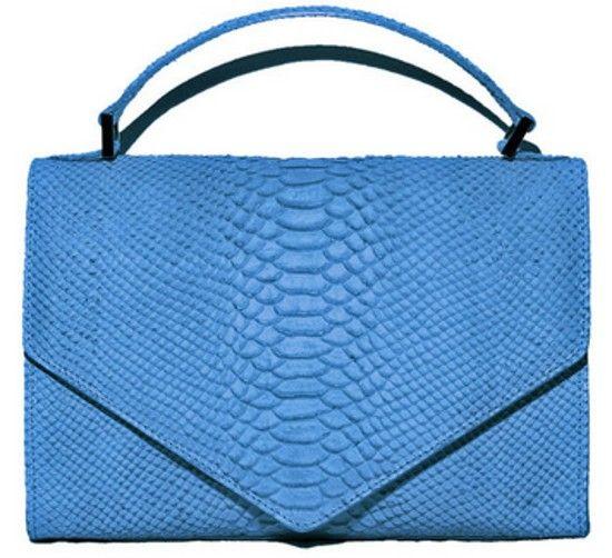 Fixx  - Emily Cho Lady triangle blue, $595.00 (http://www.fixxny.net/emily-cho-lady-triangle-blue/)  #trianglebag #amazing #love #blue