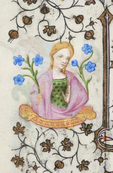 Book of Hours, MS M.919 fol. 34v - Images from Medieval and Renaissance Manuscripts - The Morgan Library & Museum