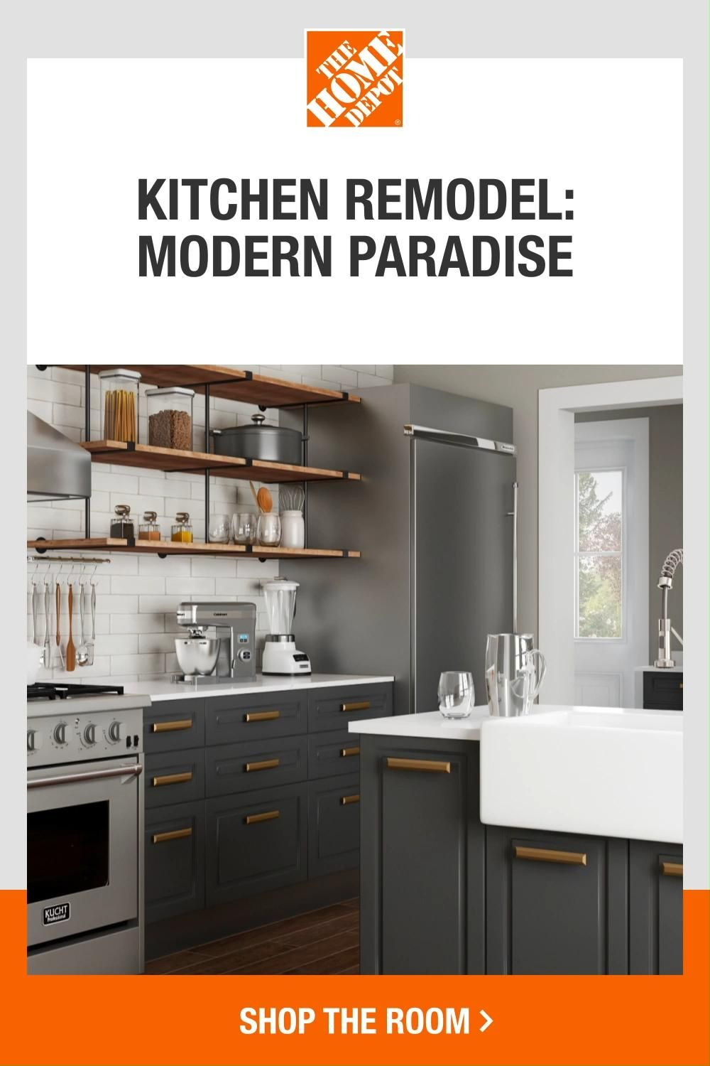 Transform your kitchen with popular trends and stylish ideas from The Home Depot