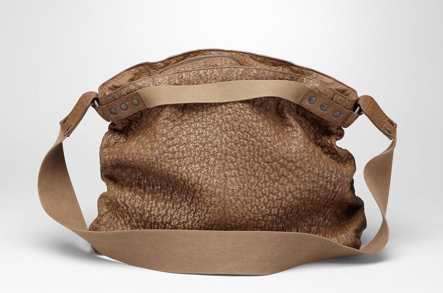 Bottega Veneta Ostrich Backpack