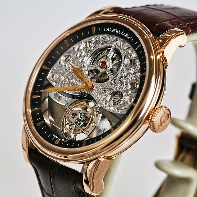 Arnold and Son TE8 Métiers d'Art II