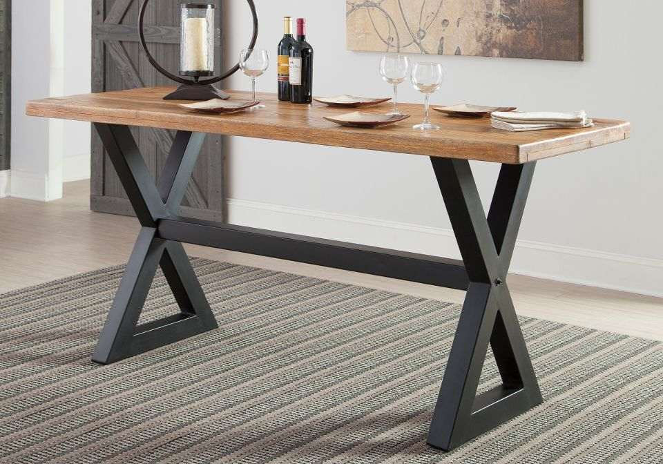Glosco Counter Height Table Cool Counter Height Gives The
