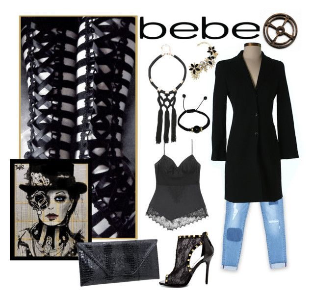"""All Laced Up for Spring with bebe: Contest Entry"" by shoppe23online ❤ liked on Polyvore featuring Bebe and alllacedup"