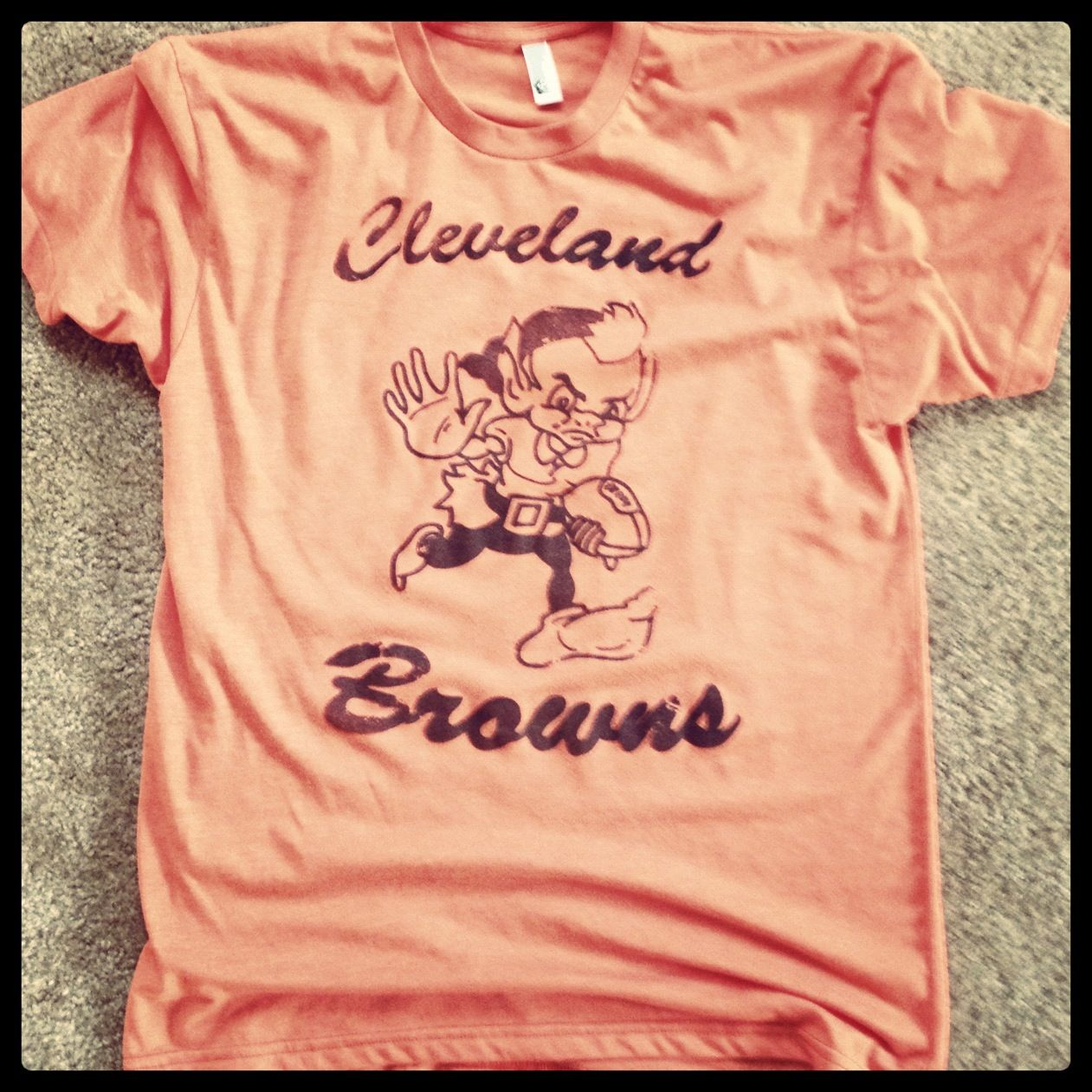 0fd6296e Throwback to the Cleveland Browns elf mascot | vintage nfl shirts ...