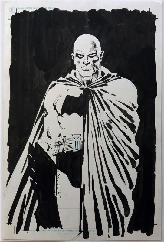 Frank Miller DKII BATMAN Comic Art