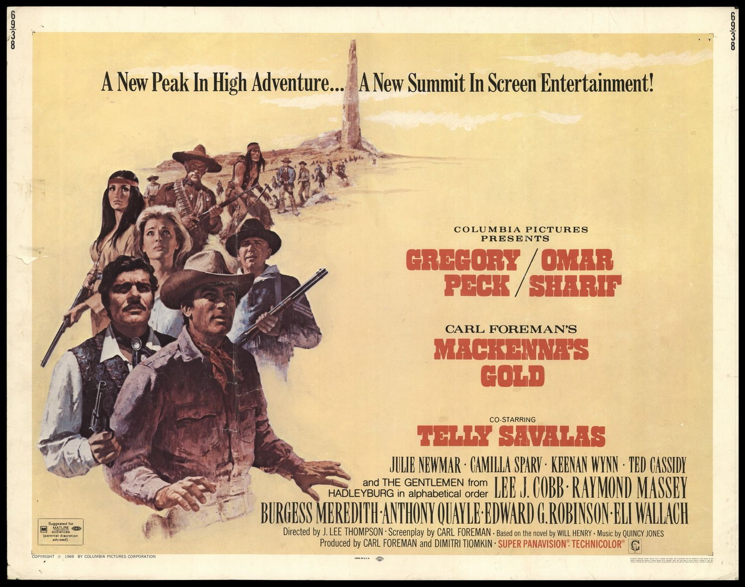 Mackenna's Gold 1969 (With images) | Gold movie, Western movies ...