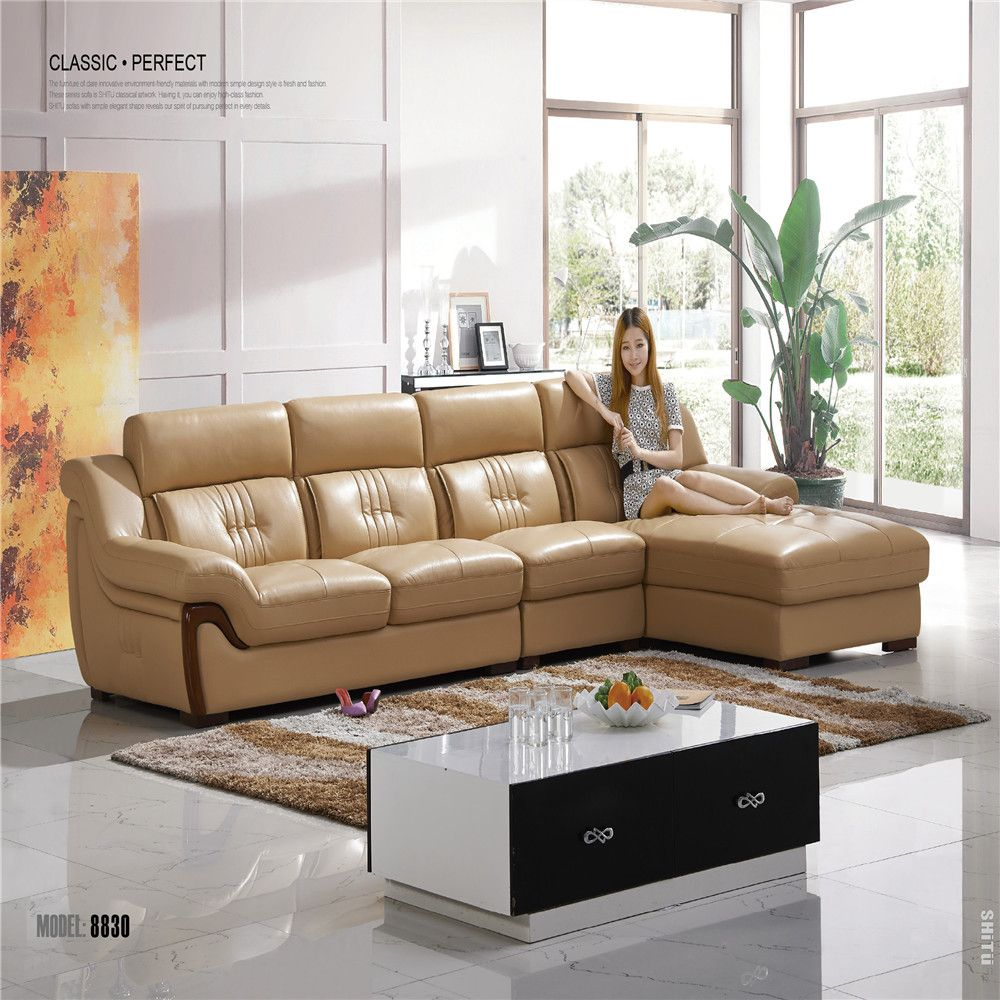 New Leather Sofa In 2020 Sofa Design Real Leather Sofas