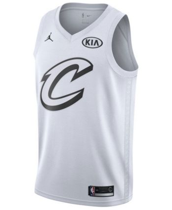 a39814dcc909 Nike Men's LeBron James Cleveland Cavaliers All-Star Swingman Jersey -  White S