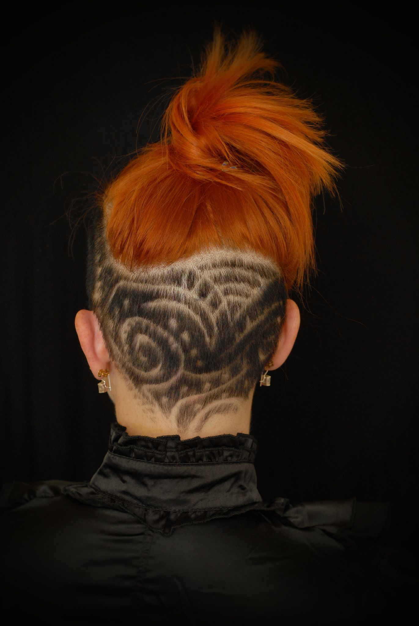 Sept hair tattoos undercut and mohawks
