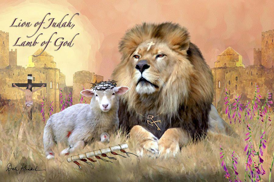 Lion Of Judah Lamb Of God Artwork Christian Pinterest Psalms