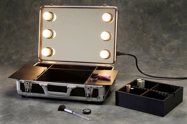 Portable Make Up Station Makeup Mirror With Lights