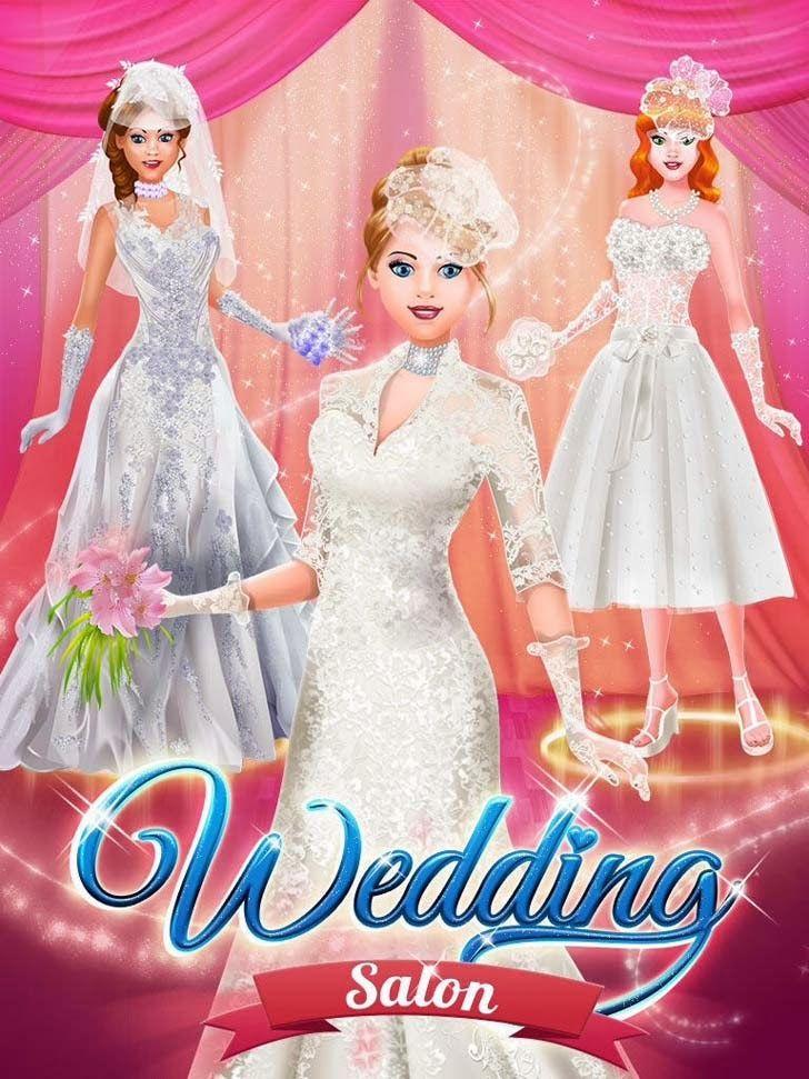 Wedding Salon Spa Makeover Dress Up Makeup Photo Fun App Wedding Salon Spa Salon Makeover App