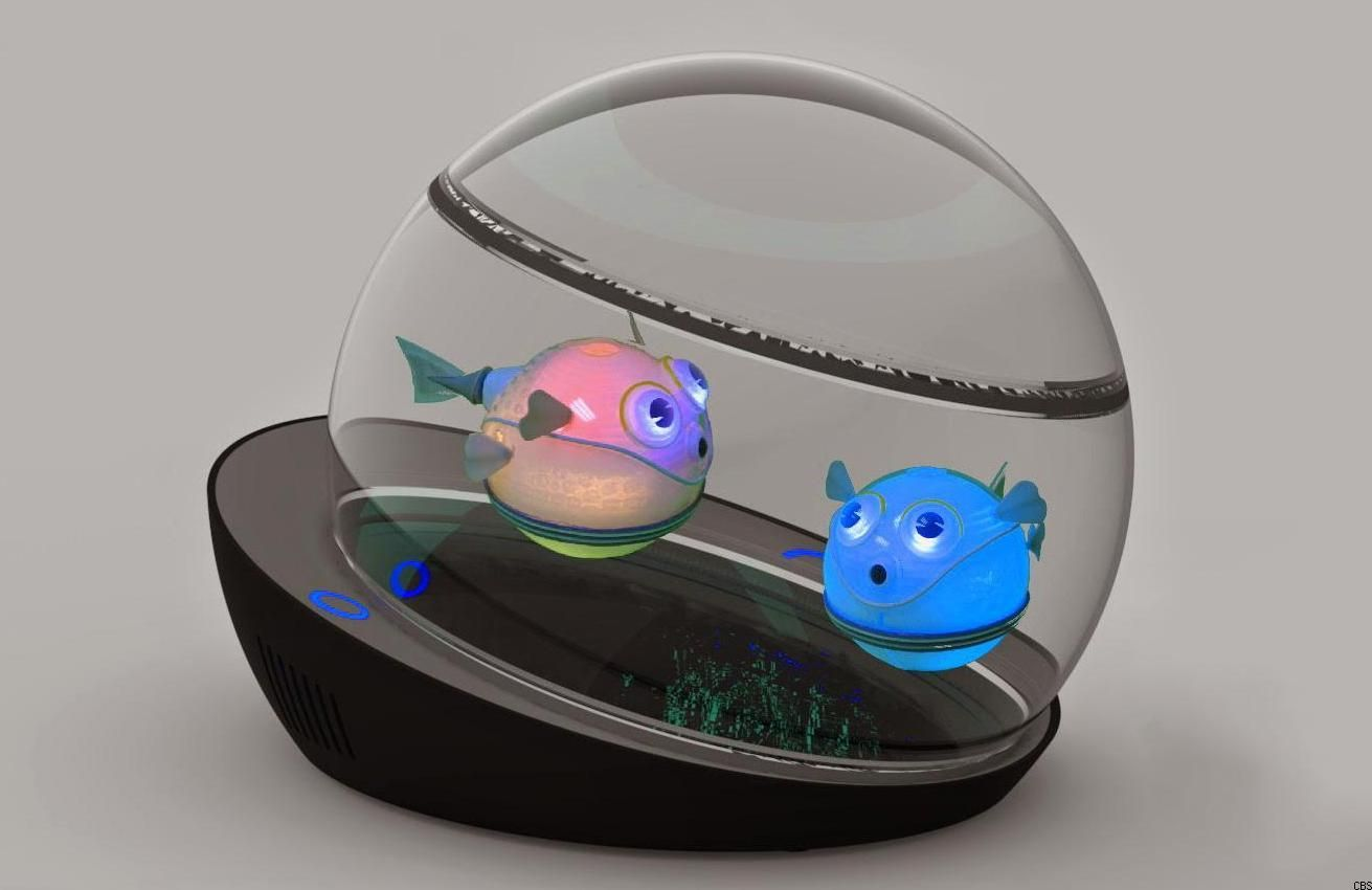 Wirelessly Powered Robo Fish Need No Maintenance Aquariums Fish