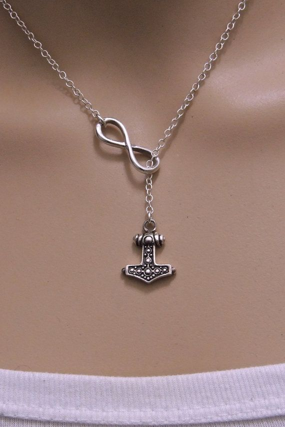 Thor Hammer, small Pendant 925 Silver