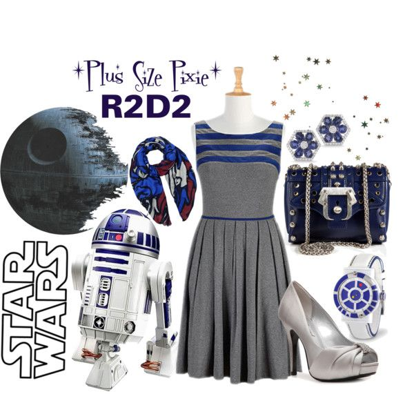 plus size pixie ~ r2d2.. went to comic-con and was followed by