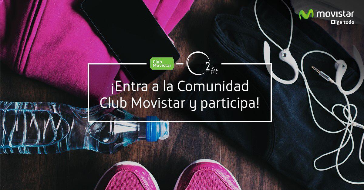 http://tinyurl.com/movistar-app Elige uno de los 3 entrenamientos y ya estarás participando por una de las 15 Gift Card válidas por 30 días en Gym O2 Fit