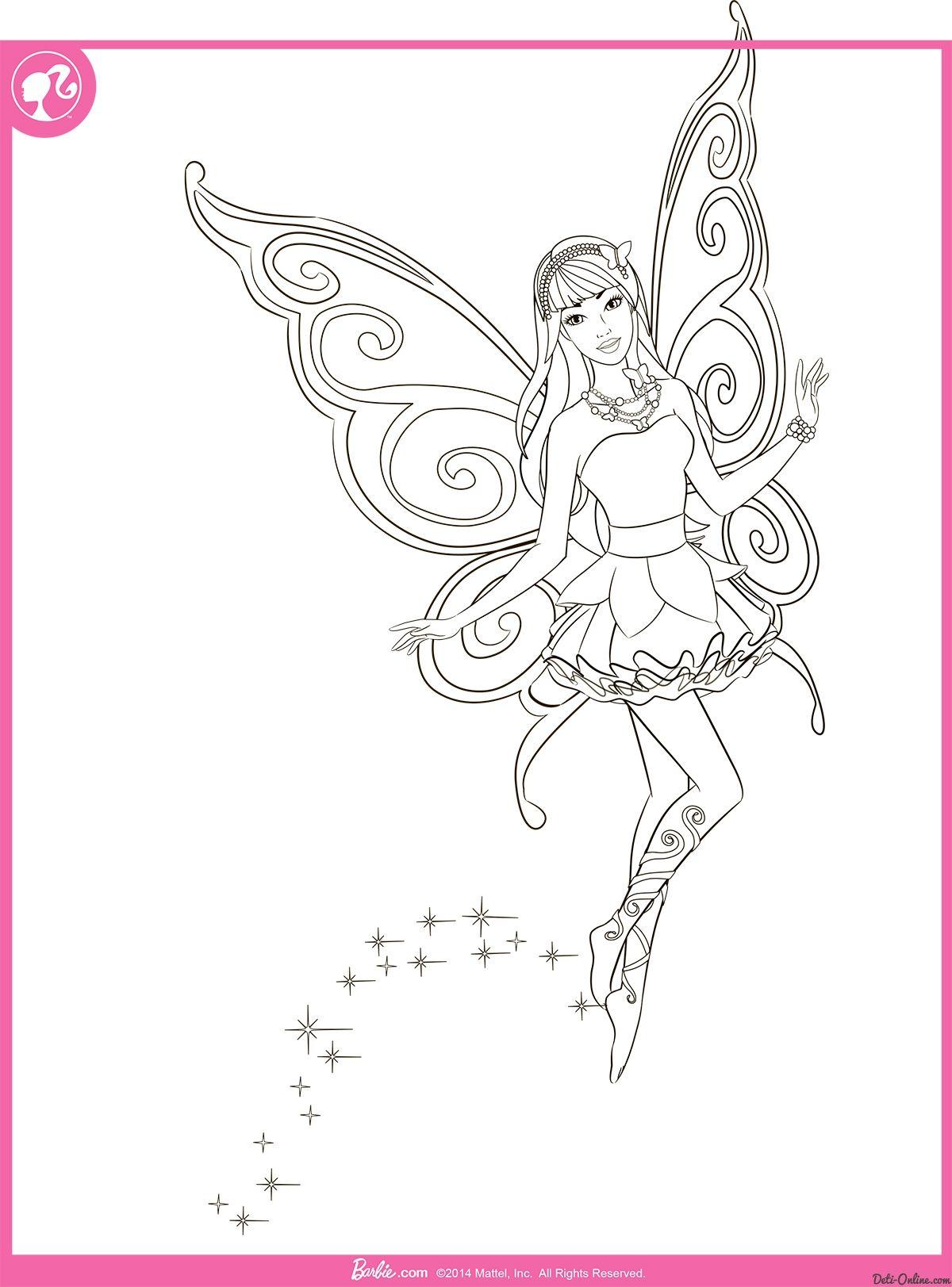 Ausmalbilder Barbie Rapunzel Kostenlos :  Ausmalbilder Barbie Pinterest Ausmalbilder