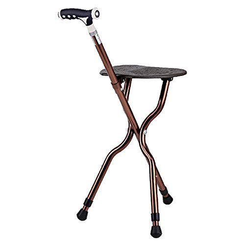 Fantastic Gm Adjustable Folding Walking Cane Chair Stool Massage Pabps2019 Chair Design Images Pabps2019Com