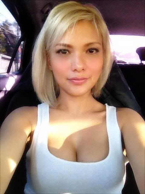 Busty Short Hair Blonde