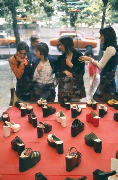 caterpillar shoes tehran iran photos 1960s trendy