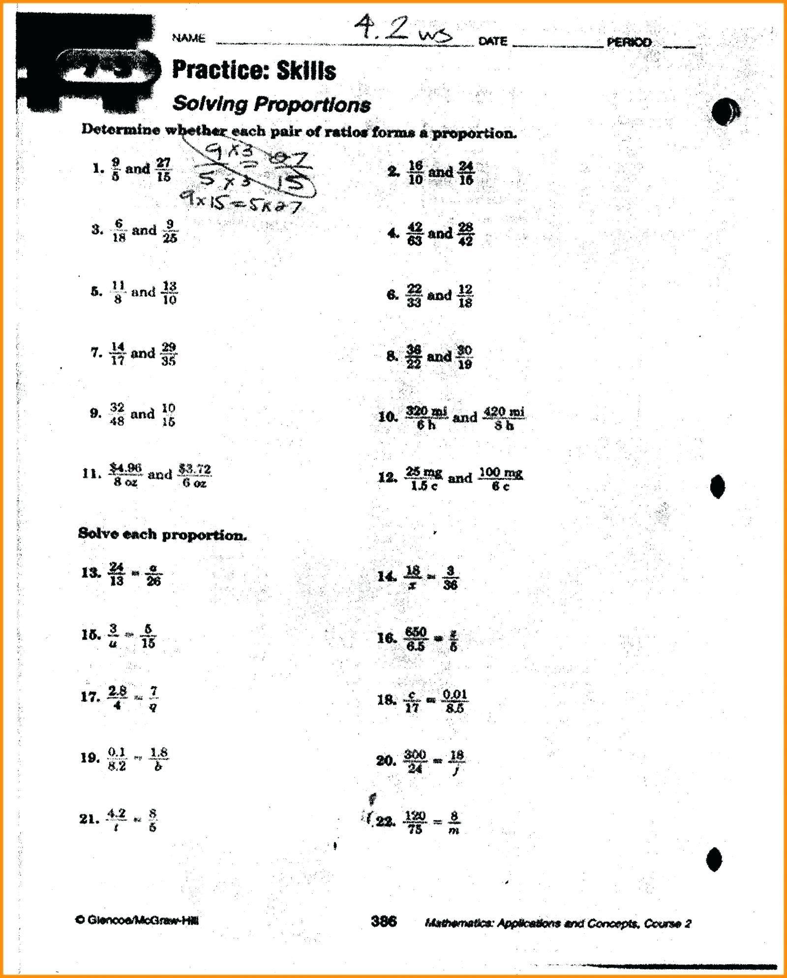41 Simple Ratio Worksheets Design Math worksheets, Ratio