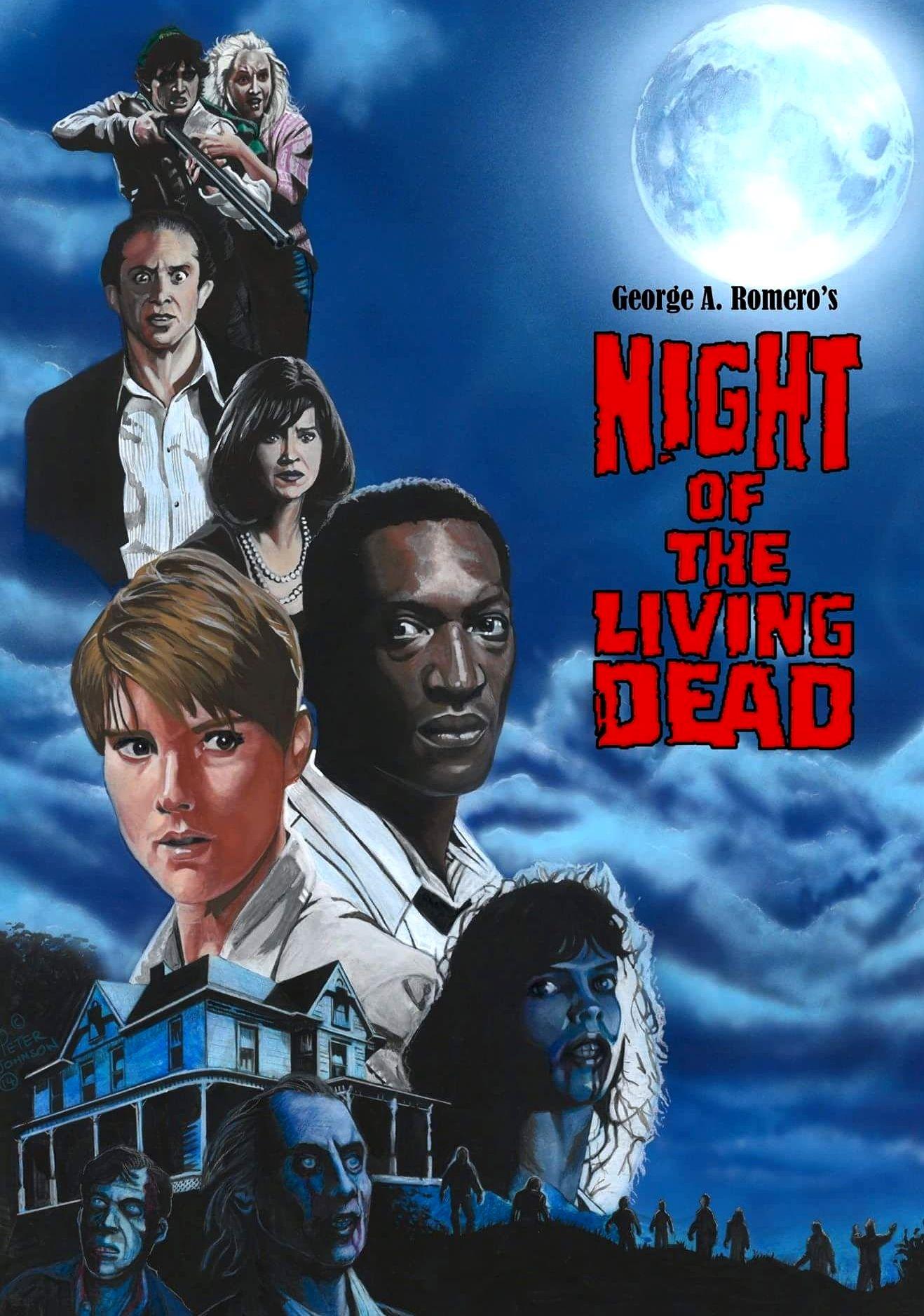 Night Of The Living Dead Películas Clásicas De Terror Peliculas De Terror Personajes De Terror