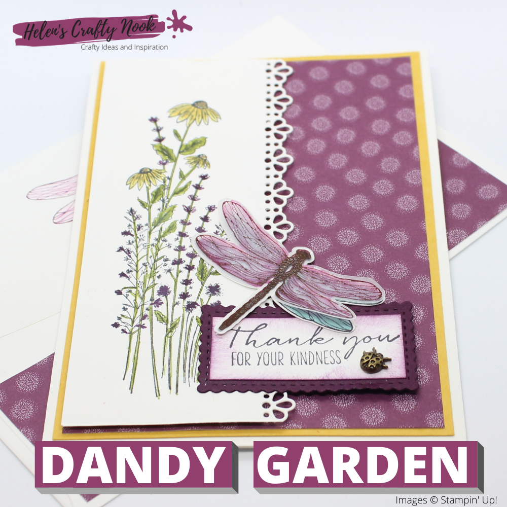 Dandy Garden Suite Sneak Peek : Dragonfly Garden S