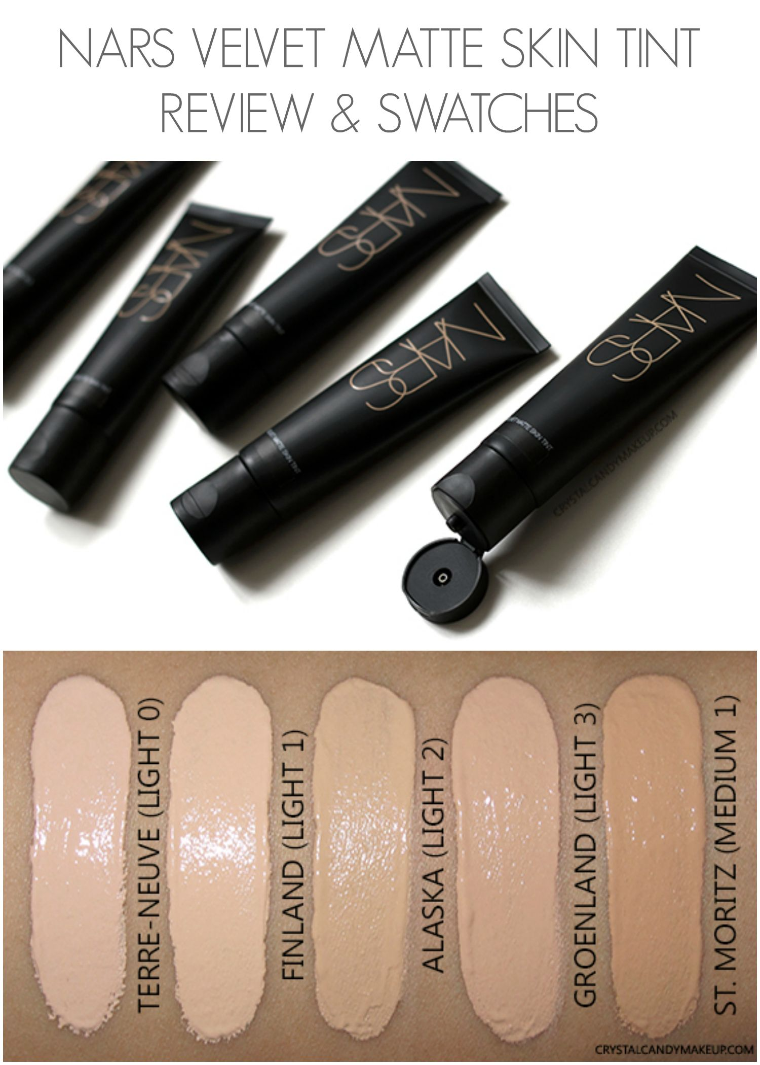 foto de NARS Velvet Matte Skin Tint - Review and Swatches | Nars velvet ...