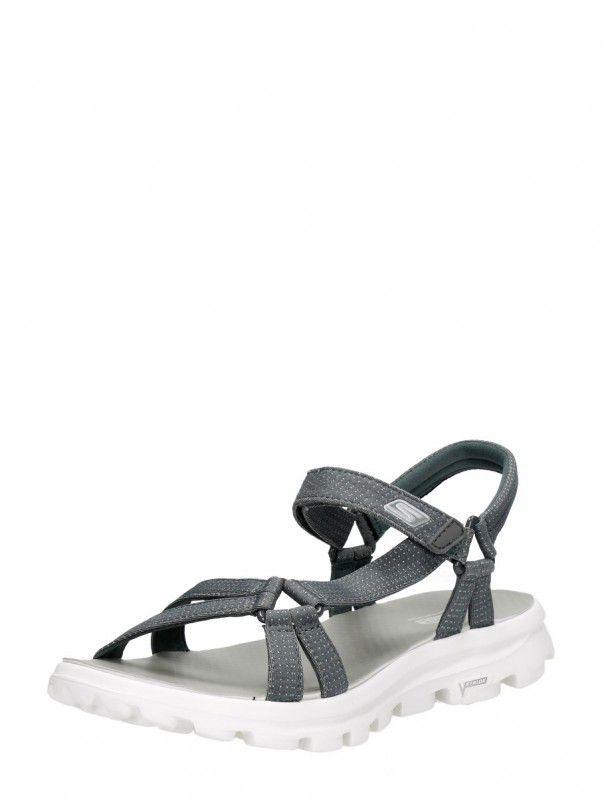 Skechers On The Go dames sandalen Donkergrijs online kopen
