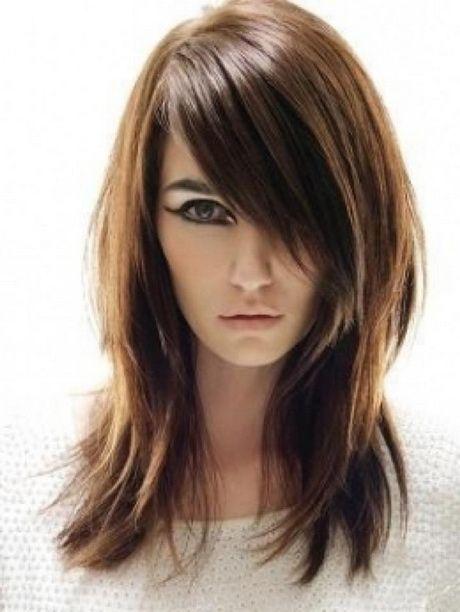 Cortes de cabello largo cara redonda gordita