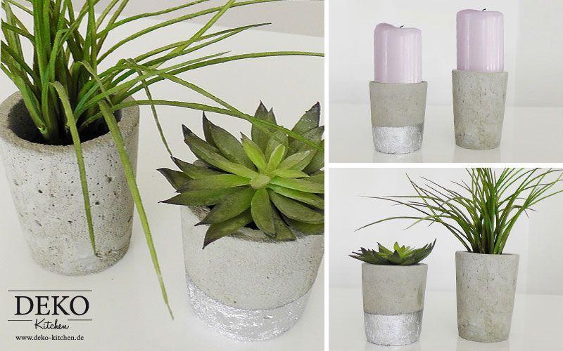 DIY Blumenvase aus Beton Deko-Kitchen