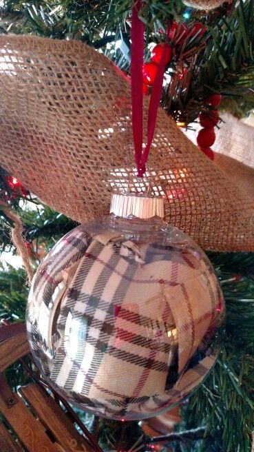 My homemade Burberry Christmas ornaments   Burberry   Pinterest ... c21b286bd6