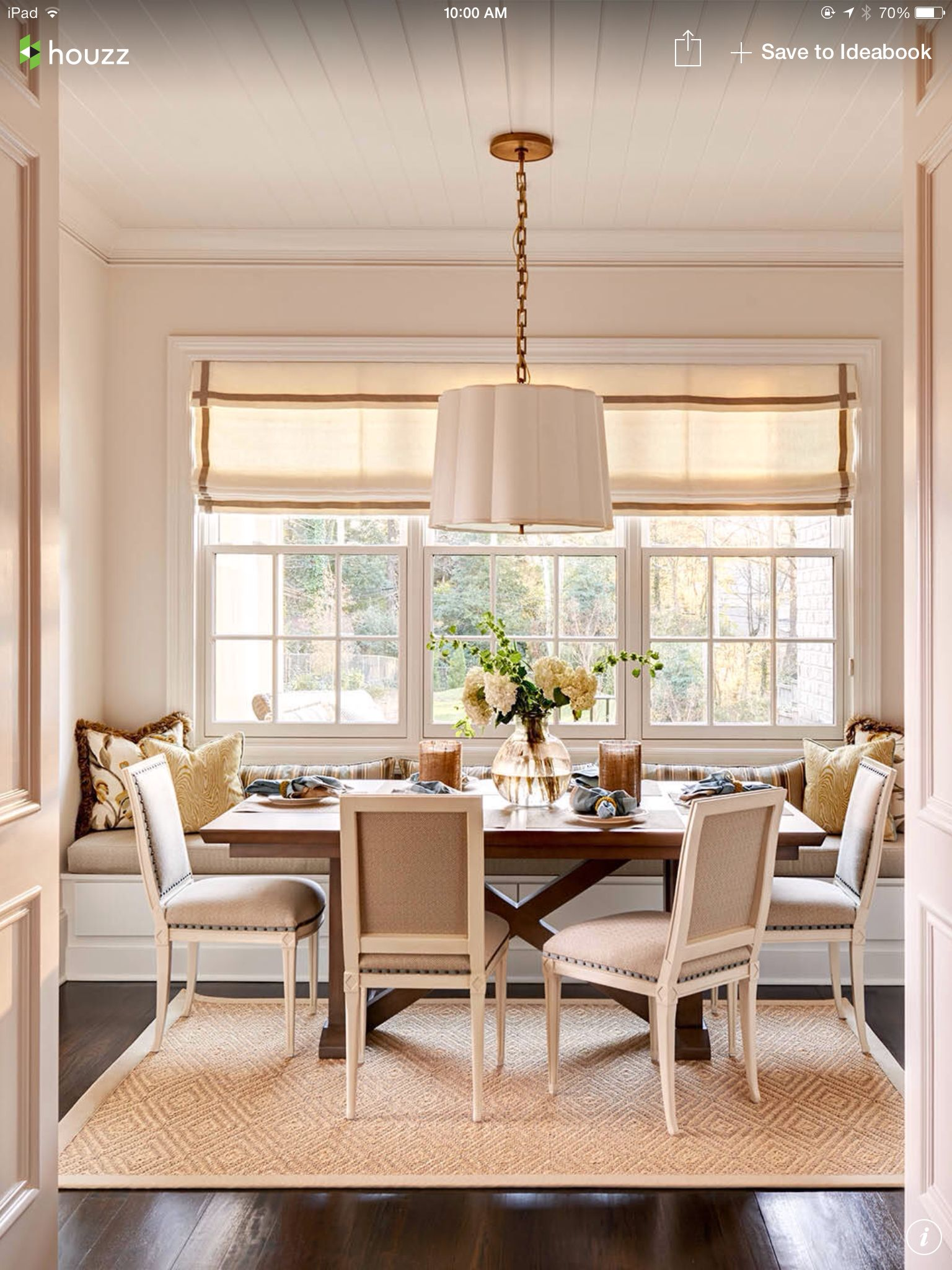 This Reminds Me Of Our Breakfast Room