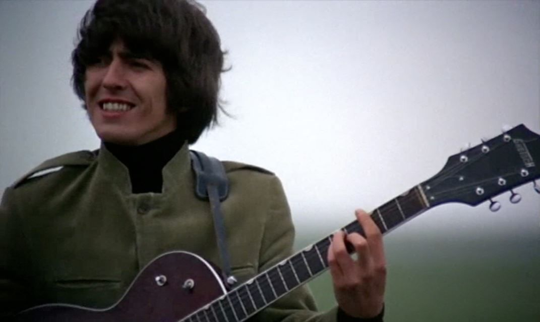 1965 - George Harrison in Help! film.