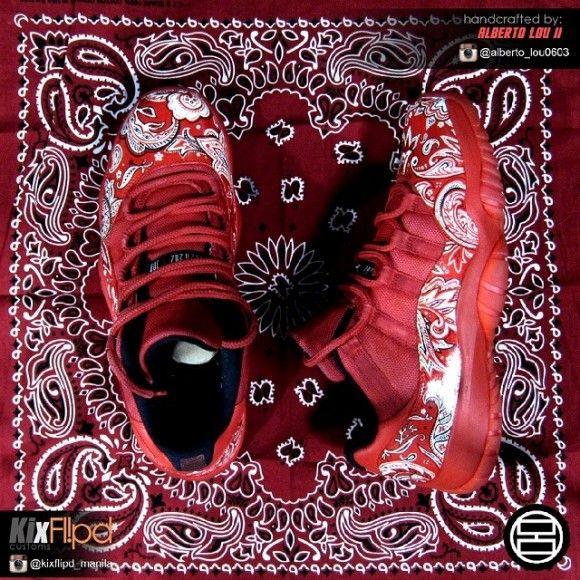 Air Jordan Retro 11 Lows 'Bloods