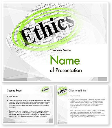 Httppoweredtemplate117130indexml code of ethics code of ethics powerpoint template toneelgroepblik Gallery